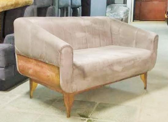 """Дизайнерский диван""""Латунь"""" 140х80 см."""