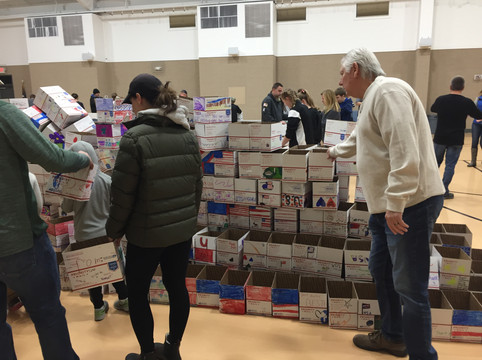 Packages 4Patriots - 2019:  Community Packing Event