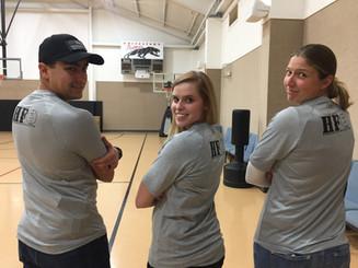 Key Volunteers (left to right): Caleb, Rachel, Fiona