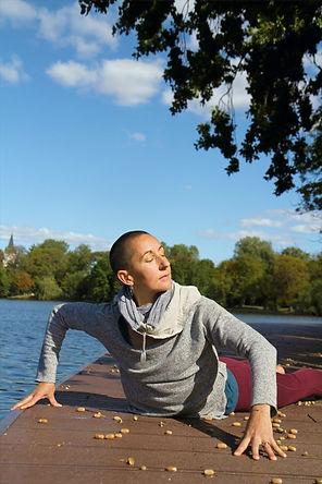 somatic yoga bhujangasana