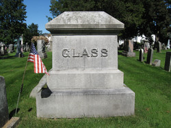 Dr. James Glass Headstone