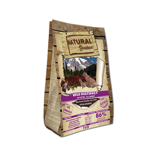Alimento Natural Greatness WILD INSTINCT Cat & Kitten