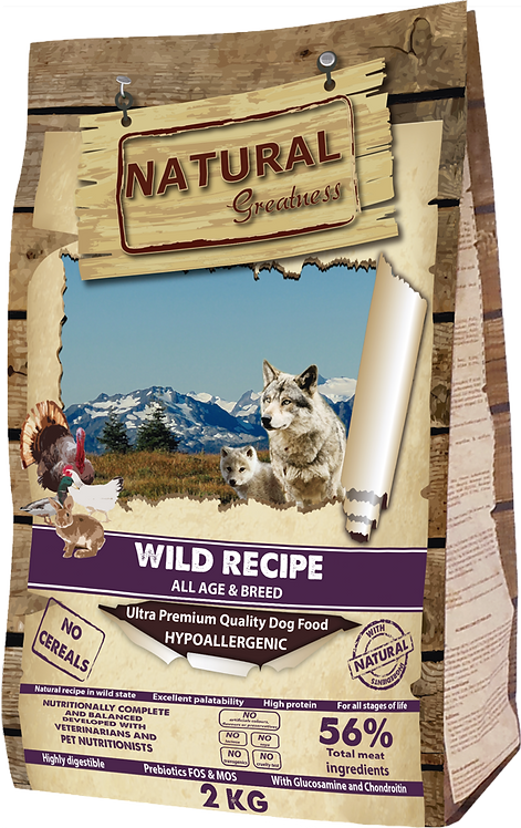Alimento Natural Greatness WILD RECIPE