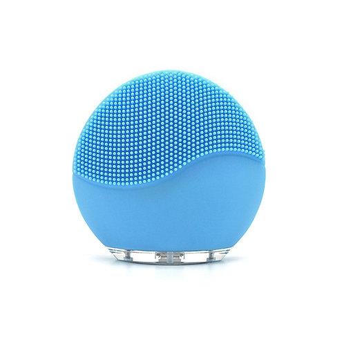Waterproof Vibration Silicone Face Massager