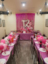 Attractive Setup for Bat Mitvah Party