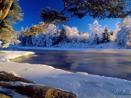 An Icy River That Still Flows
