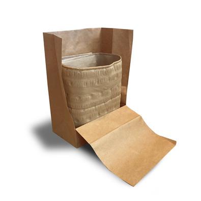 Grocery Bag Liner Kit Cross-Section