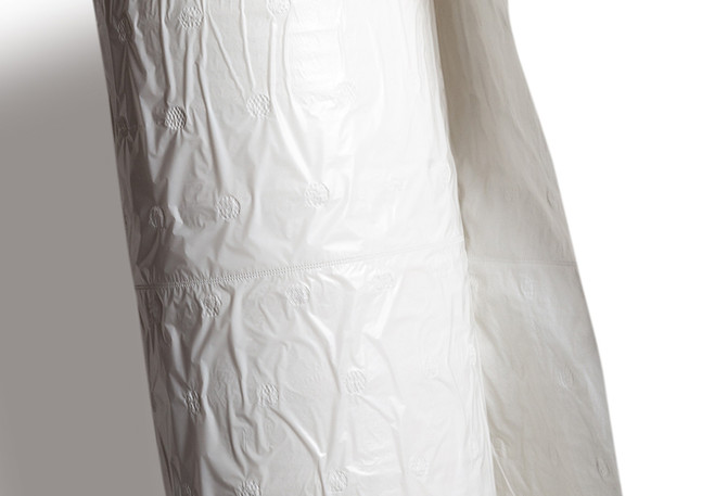 Meat & Dairy Case Roll - White Poly_Tiss