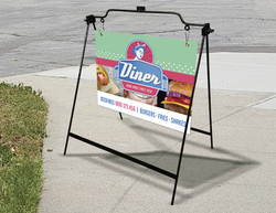 Sign with Frame