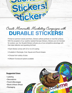 Stickers & Roll Labels