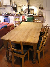 The Agnew kitchen table - where it all began