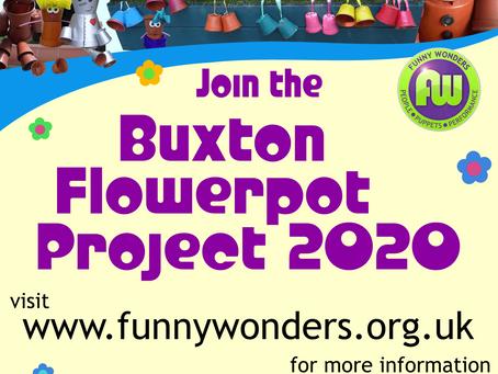 Buxton Flowerpot Project 2020 – slight change of plan!