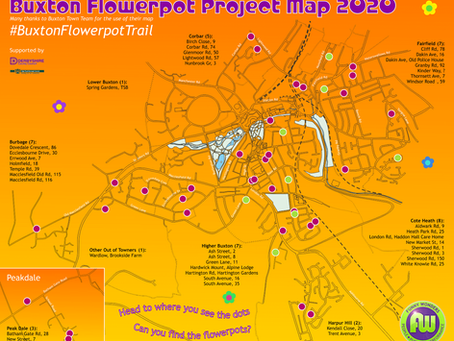 Buxton Flowerpot Project Location Map - May