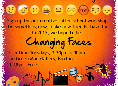 Changing Faces leaflet