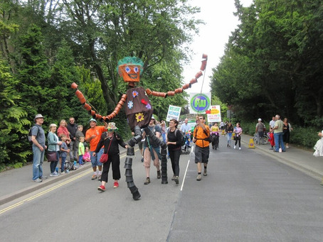 Buxton Carnival 2019: When A Giant Came to Town