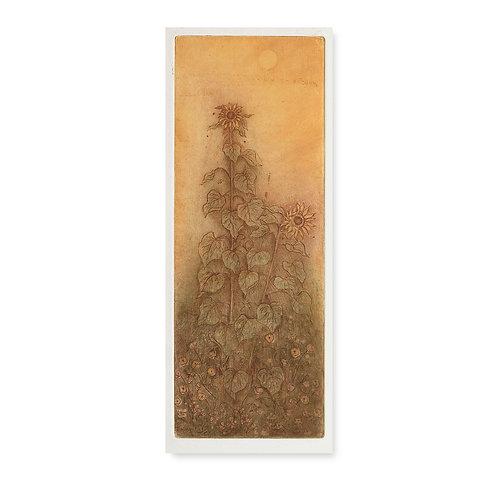 """Tall Sunflower 2  6x15 3/4"""""""