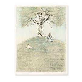 Birch And Child
