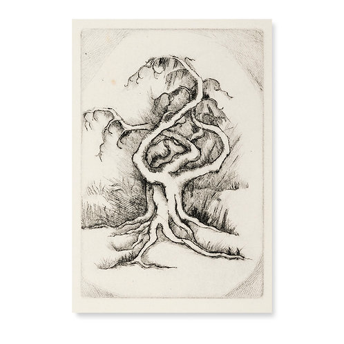 """Oriental Tree  4x6"""""""