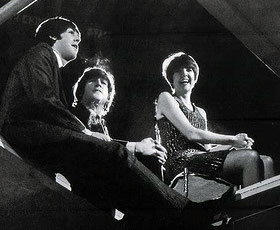 Paul McCartney, John Lennon, Cilla Black