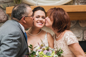 Intimate Home Wedding