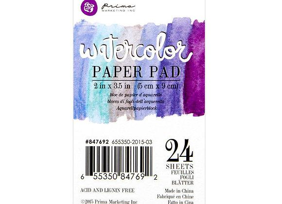"""2""""x3.5"""" Watercolor Paper Pad"""