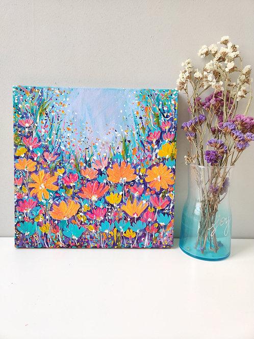 Fairyland blooms - 12x12Inch