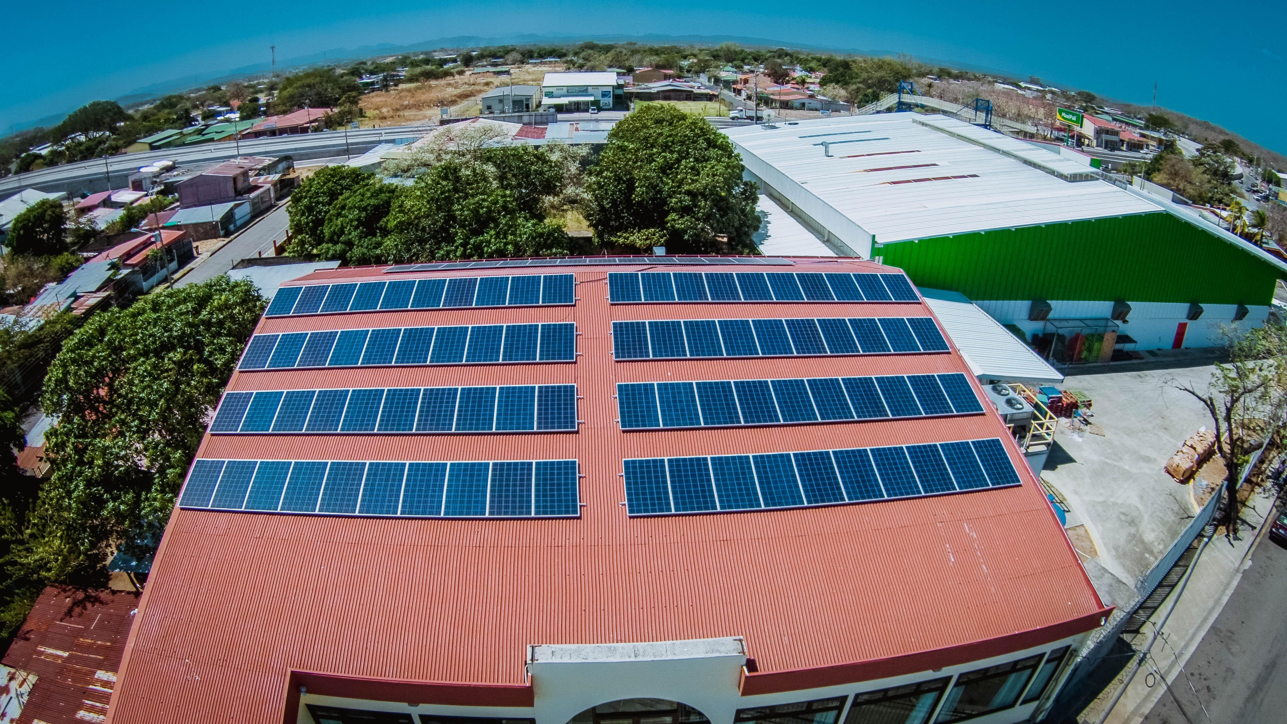 Proyecto Solar En Restaurante