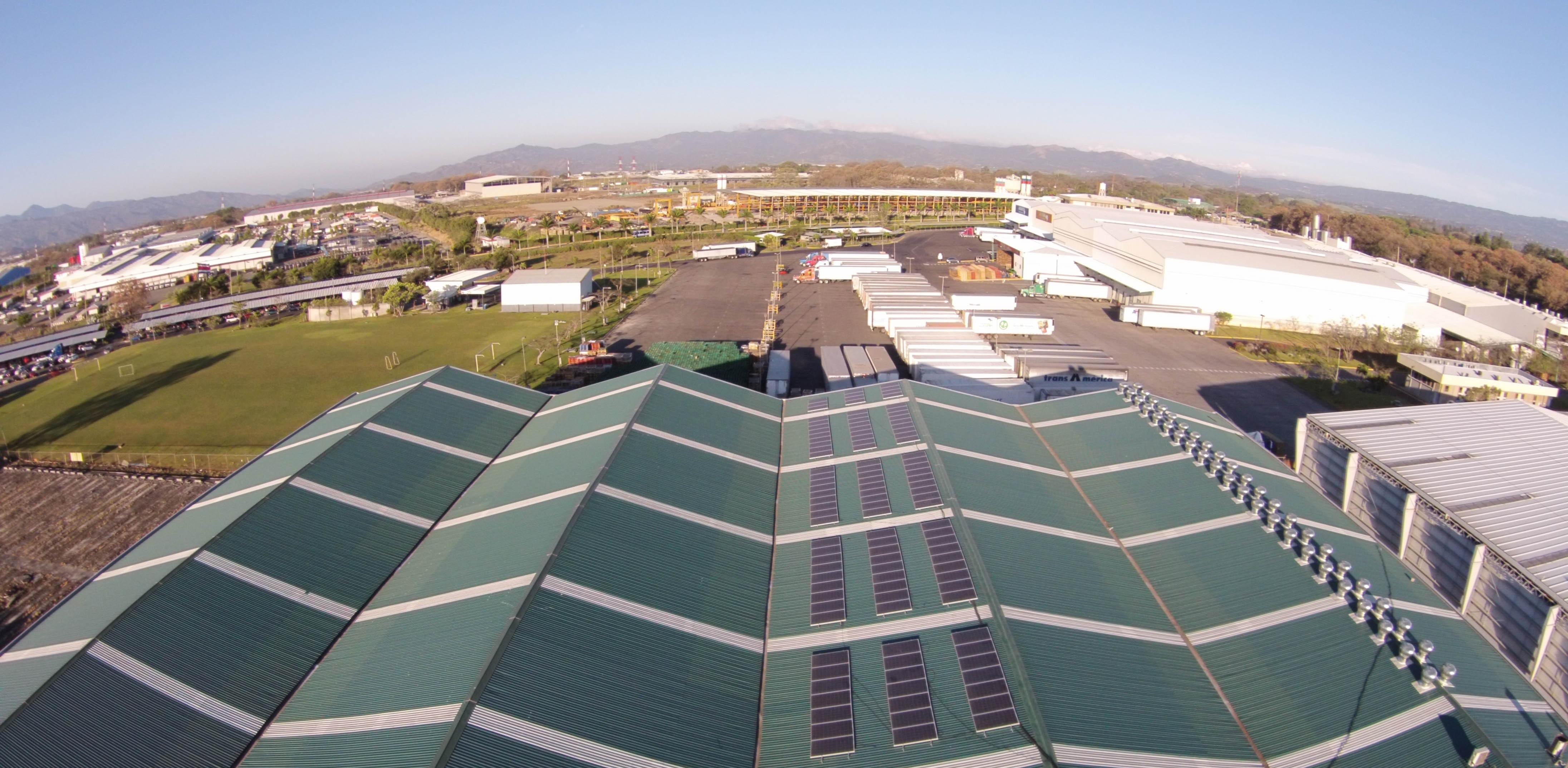 Proyecto Solar en Zona Franca