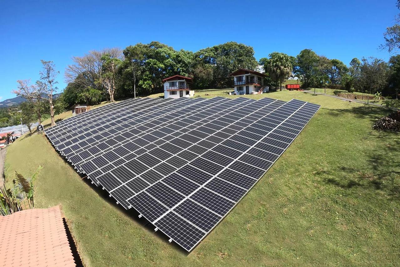 LA PLANTA SOLAR CON OPTIMIZADORES INTEGRADOS MÁS GRANDE DE COSTA RICA