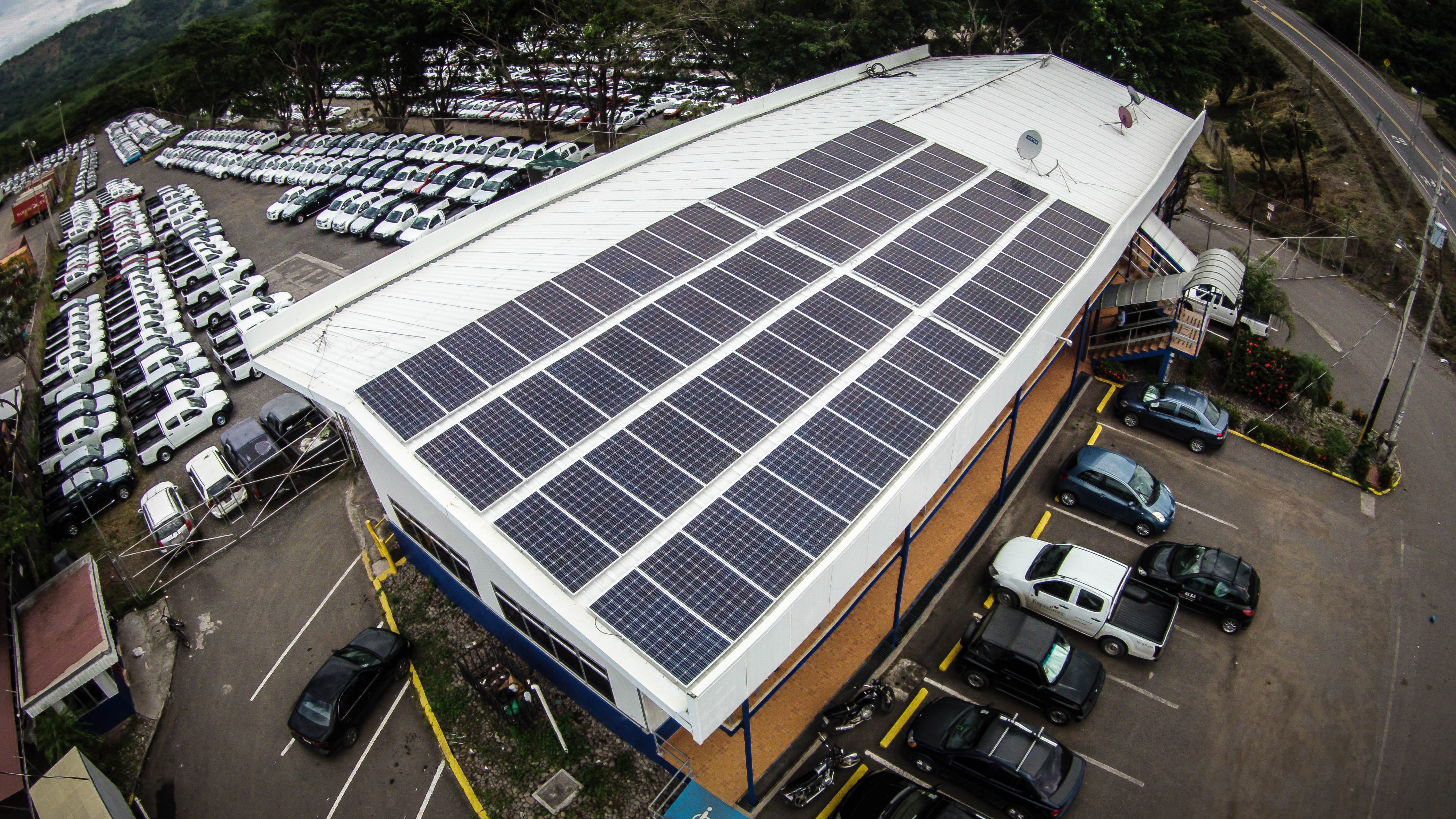 Proyecto Solar Caldera