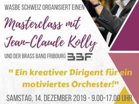 Masterclass mit Jean-Claude Kolly