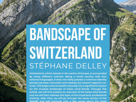 Bandscape of Switzerland...