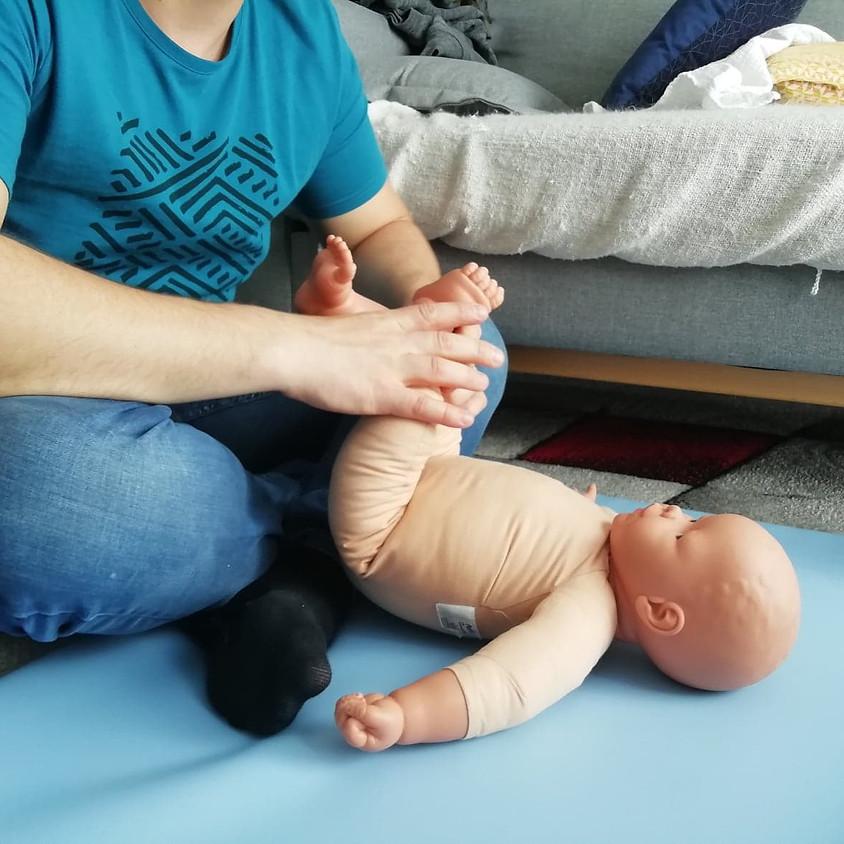 Massage Bébé - Spécial Coliques