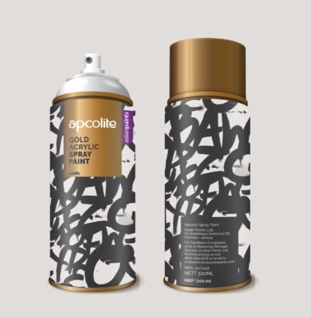Spray paint packaging