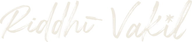 Riddhi Vakil logo