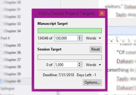 Word Count Woes