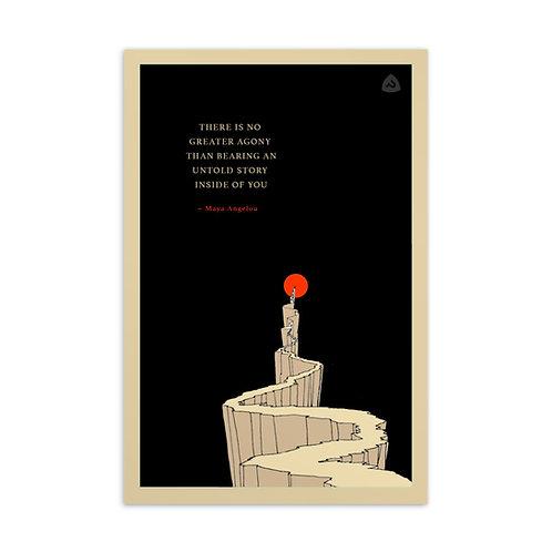 Untold Story Postcard