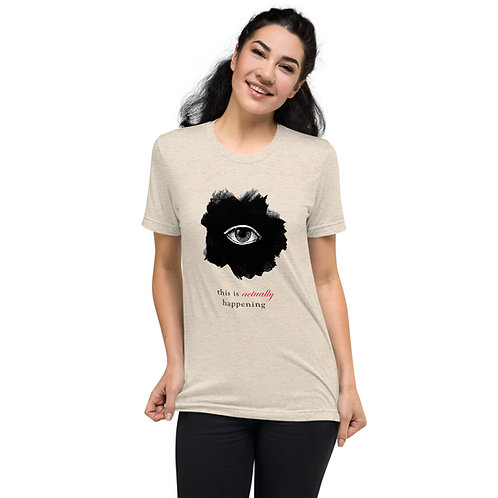 TIAH Black Logo Short Sleeve T-Shirt