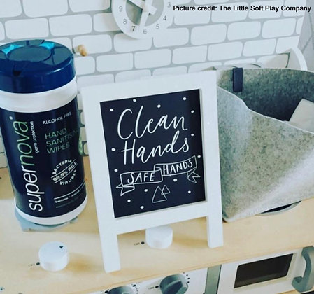 Hand Sanitising Wipes