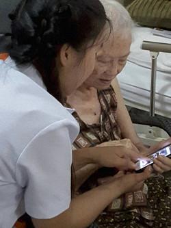 ดูแลผู้สูงอายุ