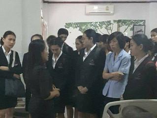 คณะอาจารย์และนักศึกษาพยาบาลจาก มหาวิทยาลัยรังสิต เยี่ยมชม ศูนย์ดูแลพรีเมี่ยมโฮมแคร์