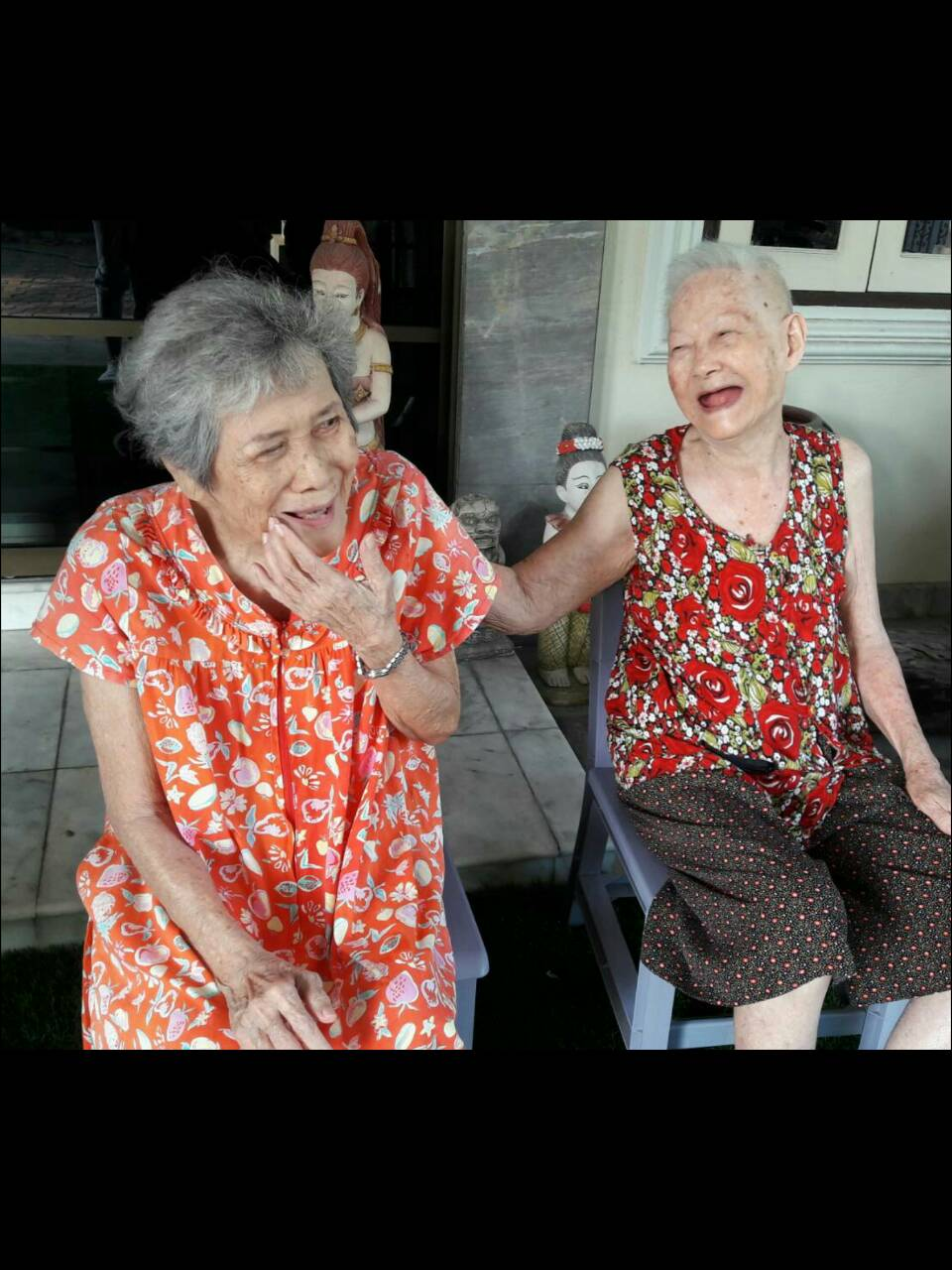 การดูแลผู้สูงอายุ.