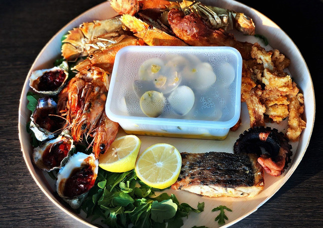 Hot Seafood Platter $170