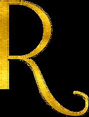 Roosevelt R Logo - Gold