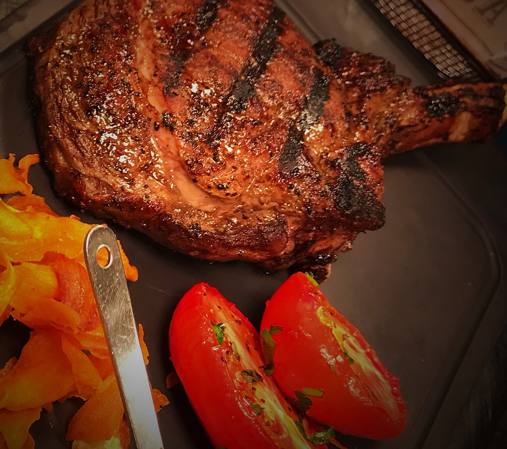 Steak at Koi Broadbeach