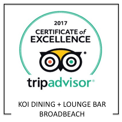 Koi Broadbeach on Tripadvisor