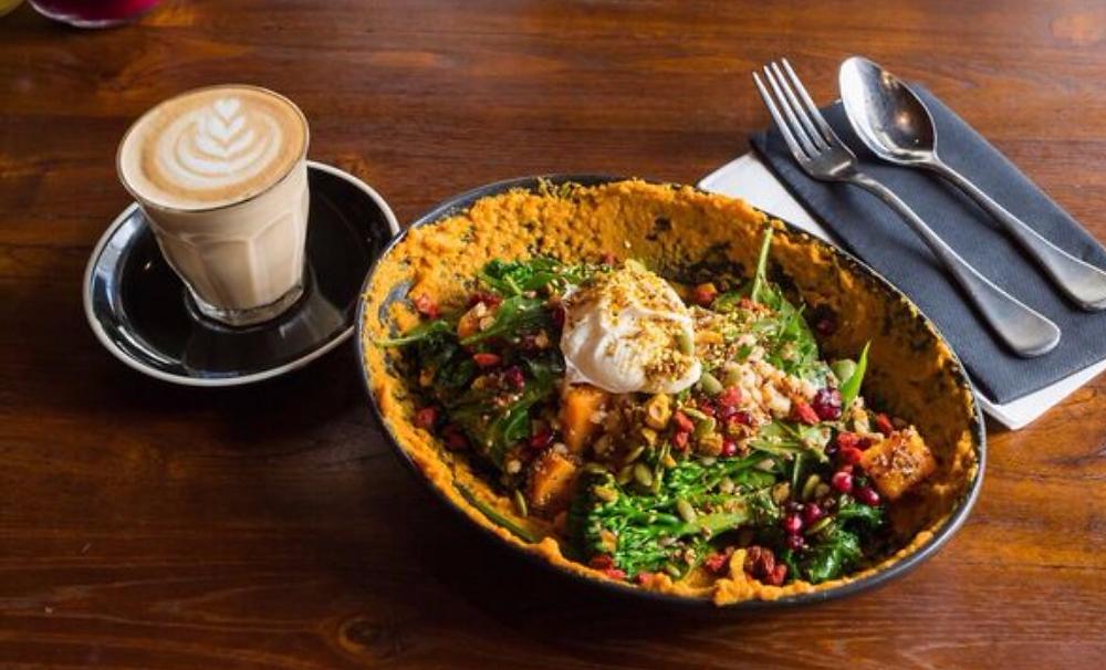 Super Salad breakfast at Koi Broadbeach