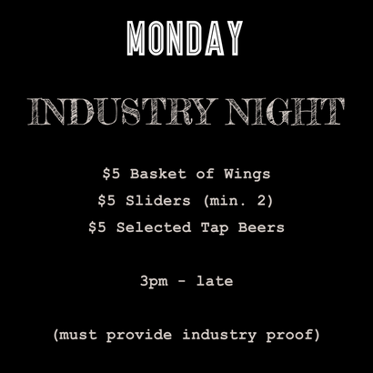 What's On on Mondays at The Loose Moose