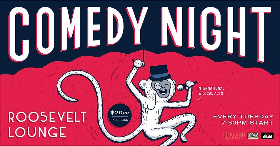 Based Comedy at Roosevelt Lounge