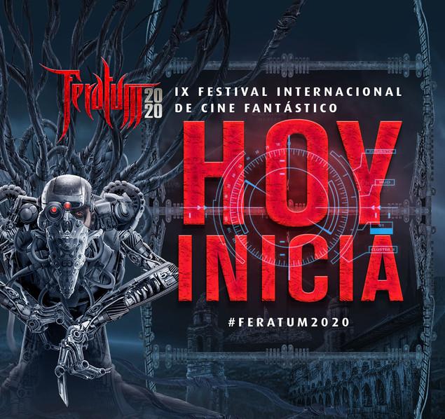 HOY comienza la 9na Edición de #Feratum2020